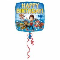 Folienballon PAW Patrol Happy Birthday 43cm