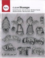 Clear Stamps - Rentierfreunde