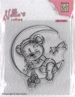 Nellies Choice Clearstamp - Christmas Cuties - Bär