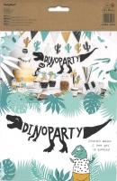 Bannergirlande Dino-Party