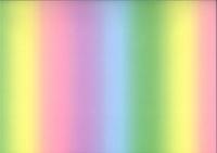Transparentppier Rgenbogen pastell 50cm x 61cm