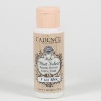 Cadence Stoffmalfarbe 59ml weiß