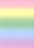 Regenbogen-Fotokarton pastell A4