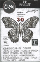 Sizzix 3-D Impresslits Embossing Folder - Butterfly by Tim Holtz