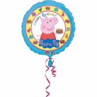 Folienballon Peppa Pig Happy Birthday!
