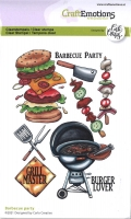 Clearstamps A6 - Barbecue party