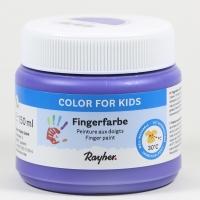 Fingerfarbe violett
