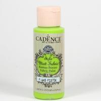 Cadence Stoffmalfarbe 59ml Pistaicho grün