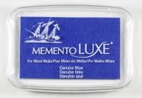 Memento Stempelkissen De Luxe - danube blue