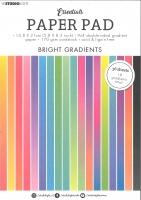 Studio Light Paper Pad A5 - Essentials Bright Gradientss