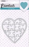 StudioLight Cutting Die Essentials -Puzzle-Herz