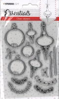 StudioLight Clear Stamps Christmas Essentials Nr. 95