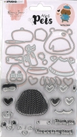 StudioLight Stanze & Clear Stamps Benny Bear