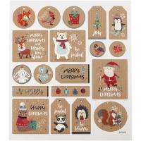 Sticker Weihnachtssticker