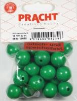 Pracht Holzperlen, poliert 16mm 22St grün