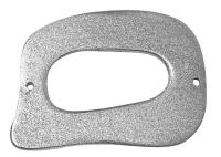 Holzelement Rechteck 40x31mm stahlgrau (Restbestand)
