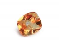 Glas-Nugget 14x19mm orange