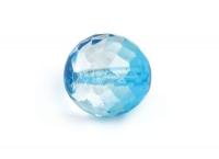 Glas-Facetten-Kugel 20mm lagune
