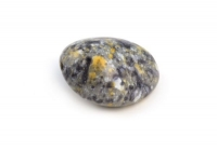 Glas-Marmor-Kiesel 26x22mm steingrau