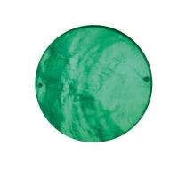 Perlmutt Schmuckelement Scheibe 40mm immergrün