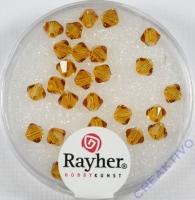 Swarovski Kristall-Schliffperlen 4mm 25St koralle (Restbestand)