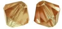 Swarovski Kristall-Schliffperlen 4mm 25St kupfergold (Restbestand)