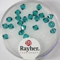 Swarovski Kristall-Schliffperlen 4mm 25St lagune (Restbestand)