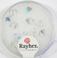 Swarovski Kristall-Schliffperlen 6mm 12St mondstein