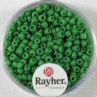 Rocailles 2,6mm ø opak grün