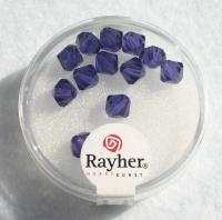 Swarovski Kristall-Schliffperlen 6mm 12St purple velvet