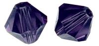 Swarovski Kristall-Schliffperlen 6mm 12St purple velvet (Restbestand)