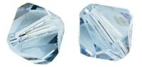 Swarovski Kristall-Schliffperlen 6mm 12St aquamarin (Restbestand)