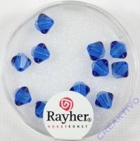Swarovski Kristall-Schliffperlen 6mm 12St nachtblau (Restbestand)
