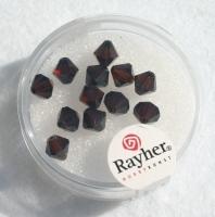 Swarovski Kristall-Schliffperlen 6mm 12St mokka