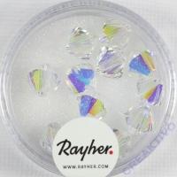 Swarovski Kristall-Schliffperlen 8mm 11St mondstein