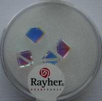 Swarovski Kristall-X-Würfel 6mm 4St mondstein