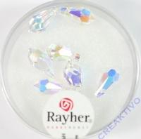 Swarovski Kristall-Tropfen 11x5,5mm 7St mondstein