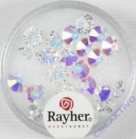 Swarovski Kristall-Scheiben 6mm 25St mondstein