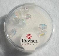 Swarovski Kristall-Oliven 7,5x5mm 8St mondstein