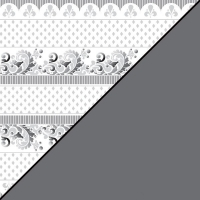 Scrapbooking-Papier Rauten-Bordüre 30,5x30,5xm 190g/m²