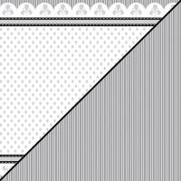 Scrapbooking-Papier Raute mit Lilie 30,5x30,5xm 190g/m²
