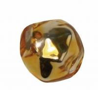 Glas-Rautenperlen 6mm 22St gold (Restbestand)
