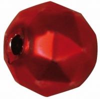 Glas-Rautenperlen 13mm 8St rot matt (Restbestand)