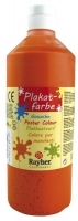 Plakatfarbe Flasche 500ml orange