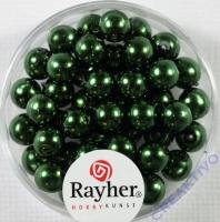 Renaissance Glaswachsperlen, 6 mm ø smaragd