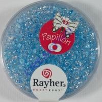 Papillon Rocailles 2x4 mm lichtblau