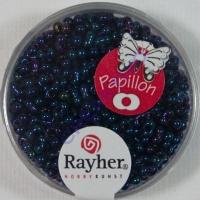 Papillon Rocailles 2x4 mm saphir