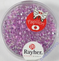 Papillon Rocailles 3,2x6,5mm flieder