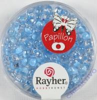 Papillon Rocailles 3,2x6,5mm lichtblau