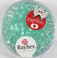 Papillon Rocailles 3,2x6,5mm mintgrün